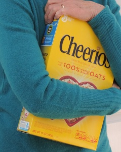 Hugging Cheerios